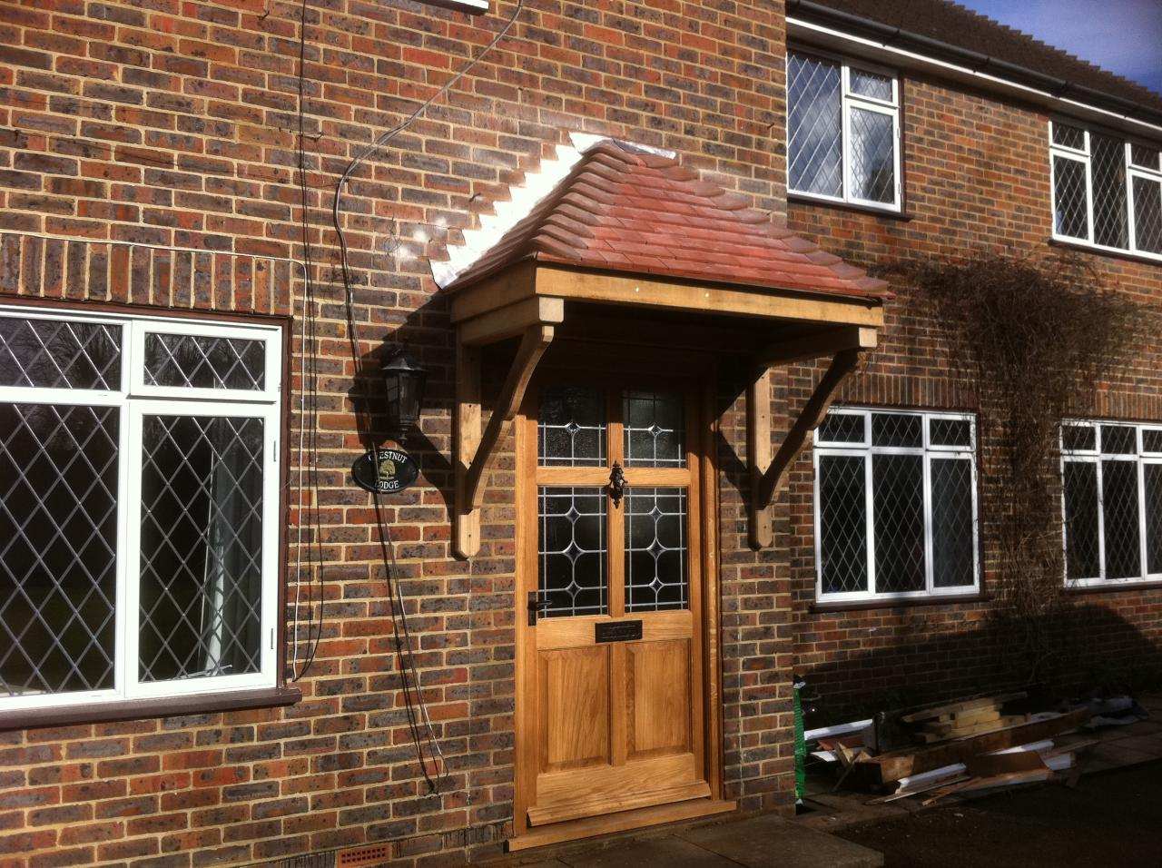 ... bespoke woodcraft porch and door ... & Bespoke Woodcraft - Doors/Porches